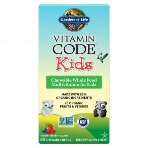 Vitamin Code Kids Multivitamin Cherry Berry 60 Chew