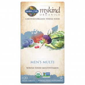myKind Men's Multi 120 Vegan Tablets