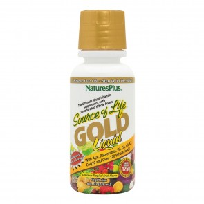 Nature's Plus Source Of Life Gold Liquid Multivitamin Tropical Fruit Flavor 8 fl oz