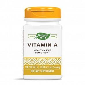 Nature's Way Vitamin A 10000 IU 100 Softgels