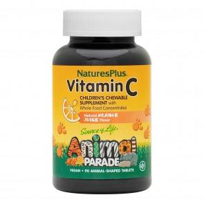 Natures Plus Animal Parade Vitamin C Orange Juice   Animal Parade Vitamin C Orange Juice