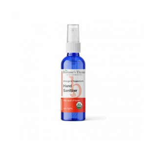 Brittanies Thyme Organic Hand Sanitizer Orange and Peppermint