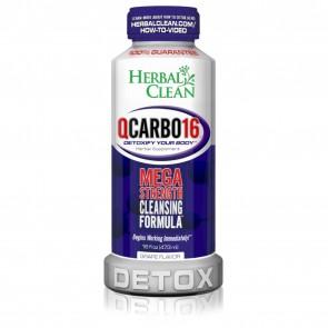 Herbal Clean QCarbo16 Detox Grape 16 oz