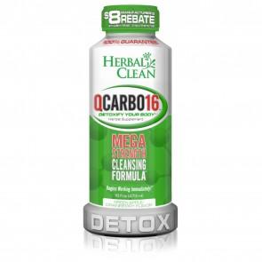 Herbal Clean QCarbo16 Detox Green Apple Cranberry 16 oz   QCarbo16 Detox Green Apple Cranberry 16 oz