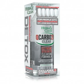 Herbal Clean QCarbo20 Extreme Strength Cleansing Formula   Extreme Strength Cleansing Formula Lemon Lime