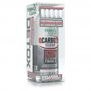 Herbal Clean QCarbo20 Extreme Strength Cleansing Formula   Extreme Strength Cleansing Formula Strawberry Mango