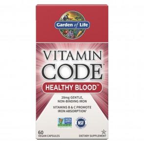 Garden of Life Vitamin Code Healthy Blood 60 Capsules