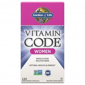 Garden of Life Vitamin Code RAW Women's Multi Formula 120 Vegetarian Capsules